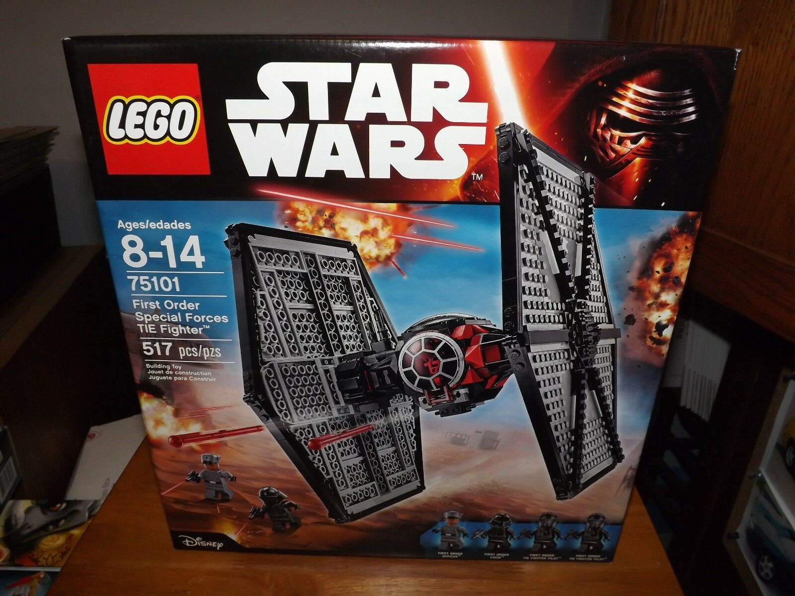 LEGO, STAR WARS, FIRST ORDER SPECIAL FORCES TIE FIGHTER,  75101, NIB, 2015
