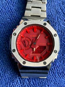 Custom full metal CASIO G SHOCK gshock GA 2100 GA2100  rsew5