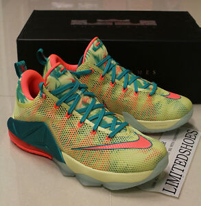 best cheap d6c52 979c9 Image is loading NIKE-LEBRON-12-XII-LOW-PRM-LEBRONOLD-PALMER-