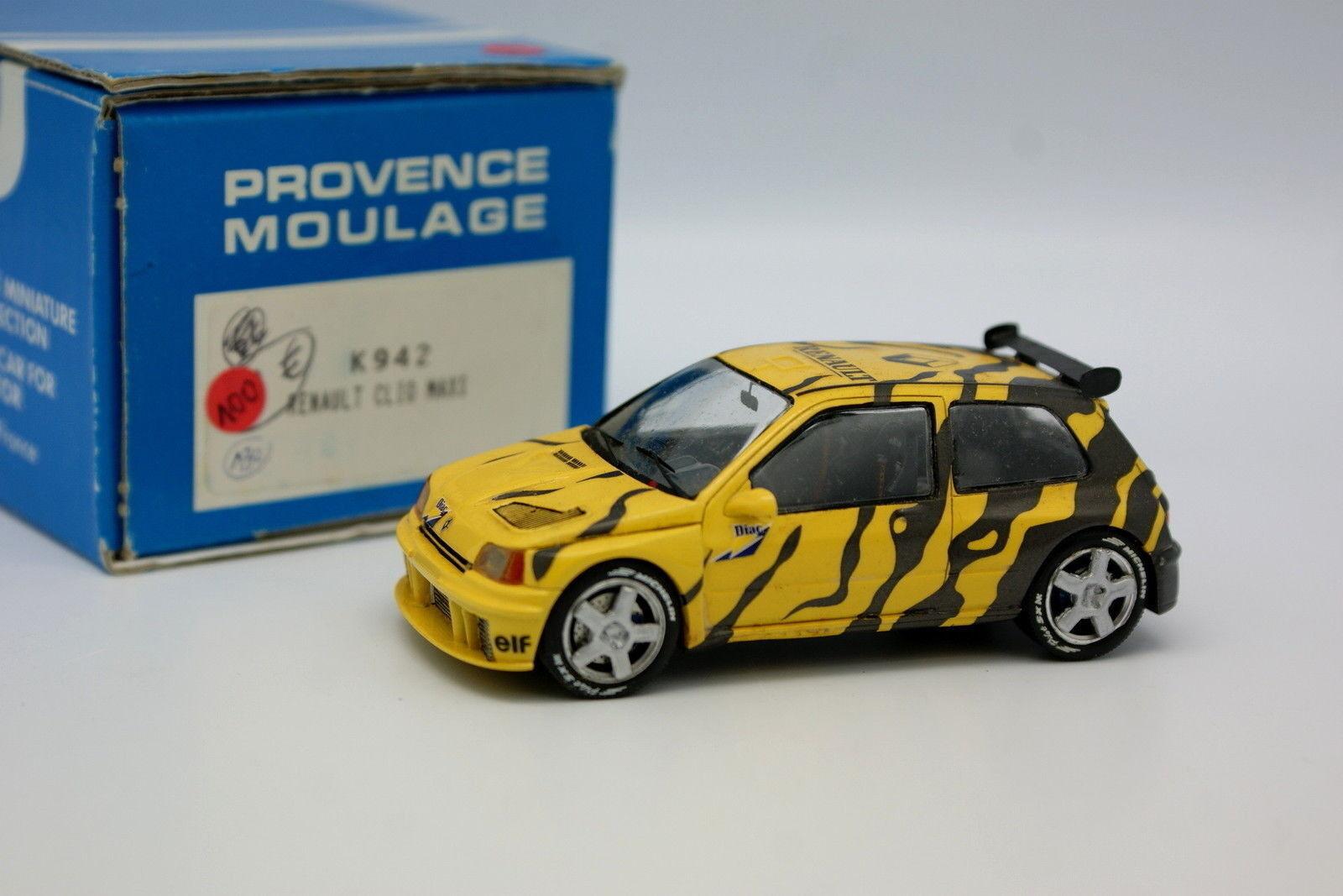 Provence Moulage 1 43 - Renault Clio Maxi Presentation