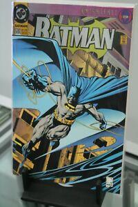 DC-COMICS-BATMAN-500-1993-DIE-CUT-FOIL-COVER-FIRST-PRINT
