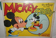 ALBUM MICKEY STORY Walt Disney Panini 1982 Mancano 15 figurine Raccolta Ragazzi