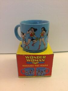 WONDER WOMAN THROUGH THE YEARS Coffee Mug, Unemployed Philosophers Guild