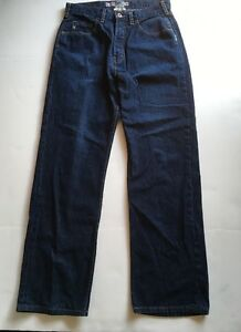 Men's Silver Jeans Blue Denim Dark Wash Straight Leg 32 X 32 ...