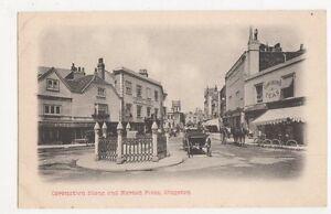 Coronation Stone amp Market Place Kingston Postcard B108 - Malvern, United Kingdom - Coronation Stone amp Market Place Kingston Postcard B108 - Malvern, United Kingdom