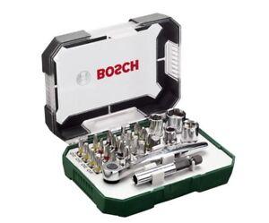 26-Pieces-Bosch-Screwdriver-Bit-and-Ratchet-Set-Hand-Tool-Kits