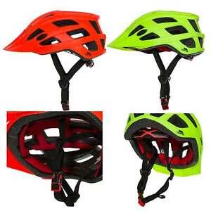 Trespass-Zprokit-Adults-Bike-Cycling-Helmet-Lightweight-Visible-in-Red-Green