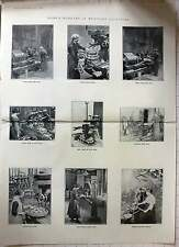 1916 Women Workers In Munitions Factories Milling Notching Drilling Photos