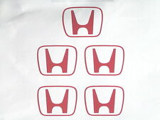 X5 Honda H Centro PAC stickers/decals Para Honda civic/crx/integra / S2000