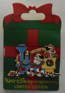 Disney-Pin-WDI-2013-Holiday-Train-Series-Disneyland-Resort-LE200-New