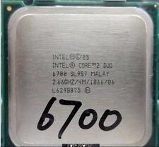 Intel Core 2 Duo E6700 SL9ZF SL9S7  2.66/4M/1066 HH80557PH0674MBX80557E6700