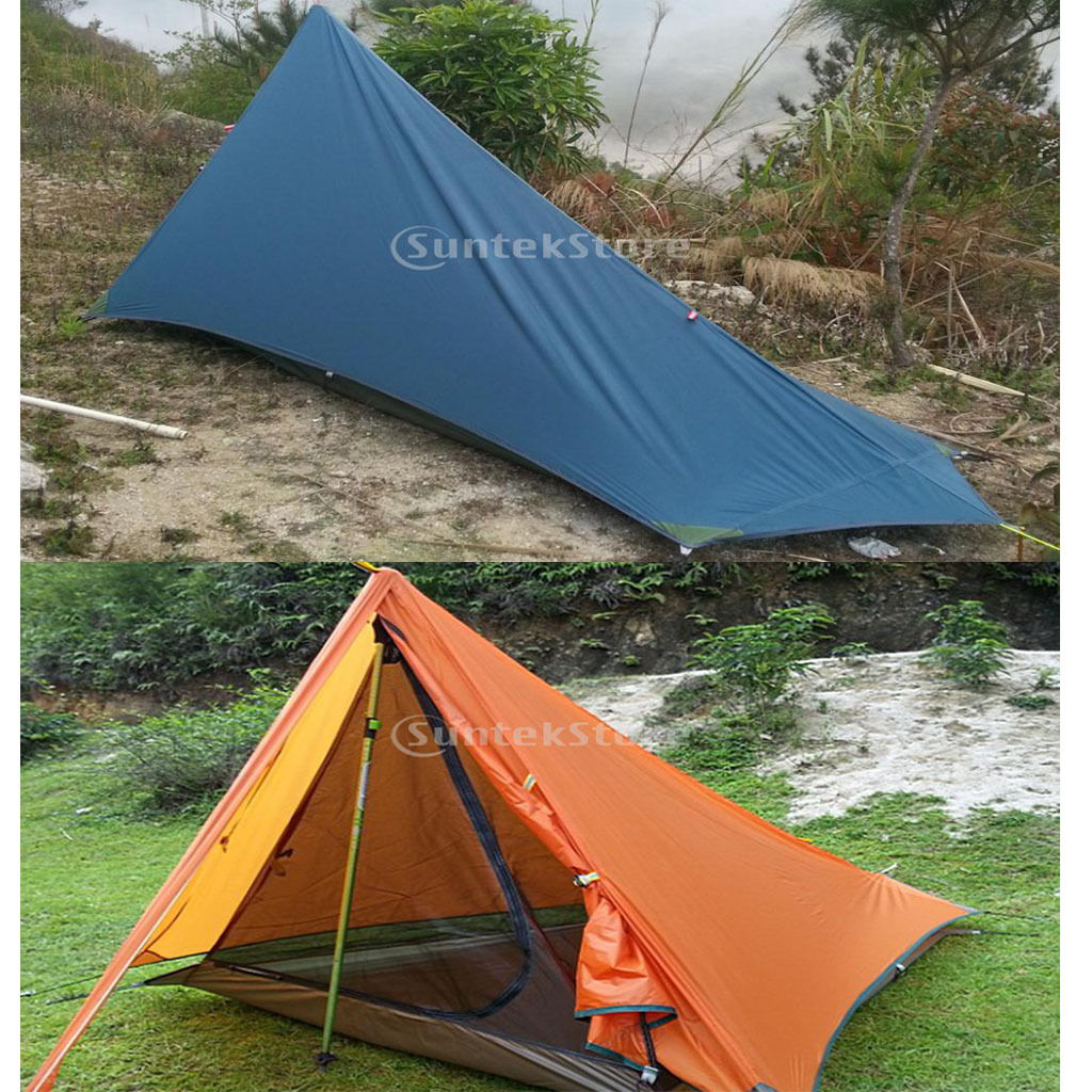 Lightweight Outdoor Trekking Hiking Mountaineering Waterproof Tarp Tent Shelter