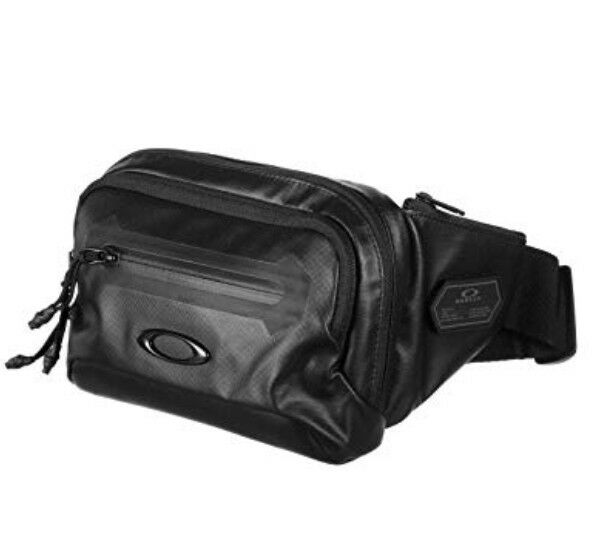 Oakley Men s Training Belt Bag Blackout Worldwide for sale online  d229bd2775319