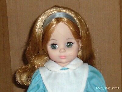 1965 Vtg 13 1/2 In. Vinyl Plastic Jointed Madame Alexander- Alice In Wonderland Cheapest Price From Our Site