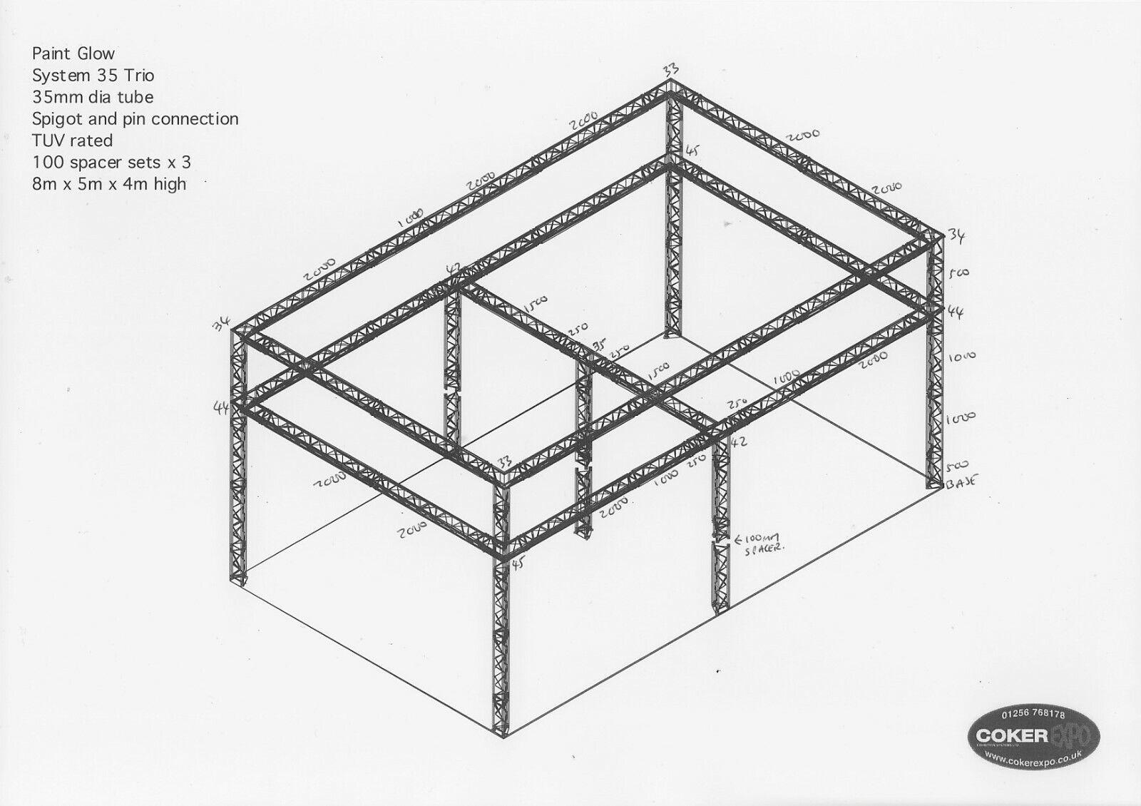 Gantry system - System 35 (8x5 meters)