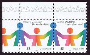 BRD-2003-50-Jahre-Deutscher-Kinderschutzbund-postfr-Rand-Paar-R