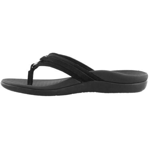 Vionic Islander Aloe Suede Durable Slip-On Thong Womens Sandals