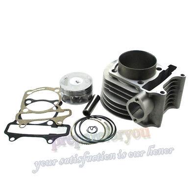 180cc 61mm Big Bore Cylinder Kit For GY6 125cc 150cc 1P52QMI 1P57QMJ Engine  ATV   eBay