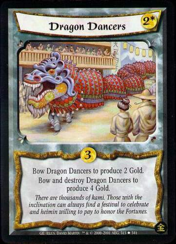 Gold Edition 203-306 Various L5R Cards Pick card Legend of Five Rings