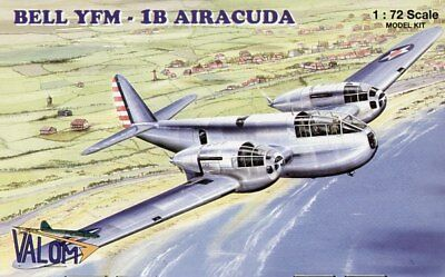 Valom 1/72 Cloche Yfm-1b Airacuda # 72036 Models & Kits Aircraft (non-military)