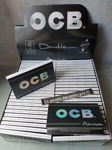 feuille à rouler OCB Premium ,10 carnets de 100 feuilles OCB Double premium
