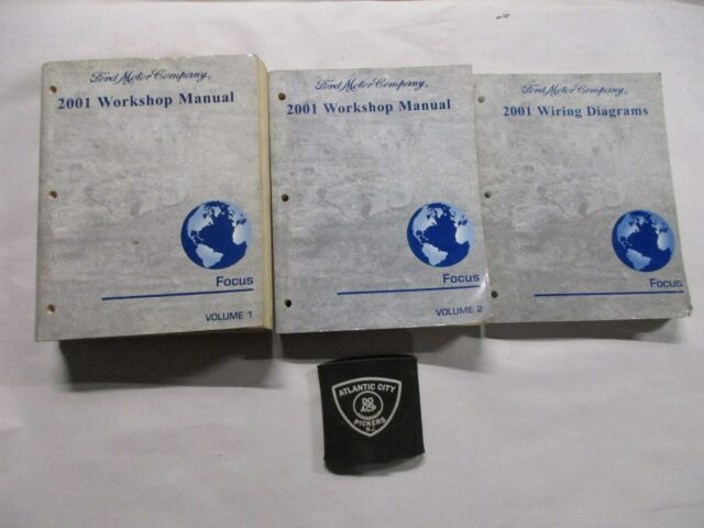 2001 Ford Focus 2 Volume Service Shop Repair Manual