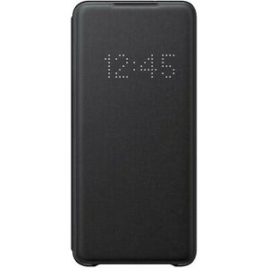 Original-Samsung-LED-View-Cover-Case-Huelle-EF-NG985-fuer-Galaxy-S20-Plus-Schwarz