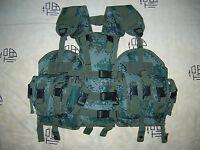 07's series China PLA Army Woodland Digital Camo Combat Tactical Vest,Set,G