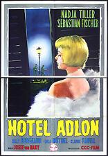 CINEMA-manifesto HOTEL ADLON tiller, fischer, borgeaud, VON BAKY
