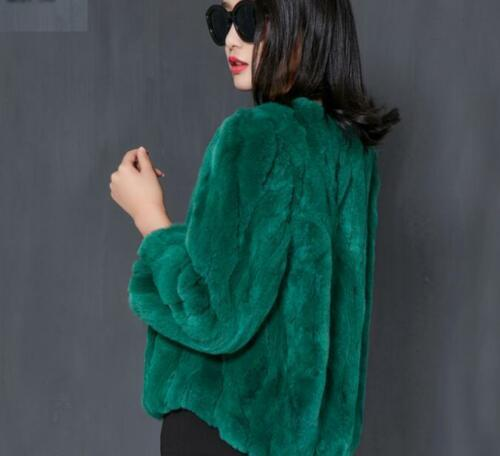 pelliccia Giacca Capispalla di Casual Parka R428 donna Cappotto Vita lunga Manica ampia 8qqt1x