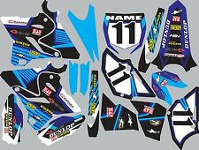 Graphics for 2015-2016 Yamaha YZ125 YZ250 YZ 125 250 Decal fender shrouds