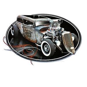 Vintage Hot Rod Garage Shop Oldtimer Kustom Automotiv US-Car Sweatshirt *1177 ny