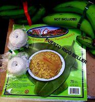 Papel Hilo Pasteles Puertorico Banana Christmas Holiday Spanish Food Recipe 2-4p