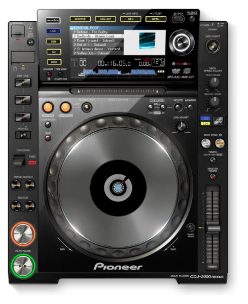 pioneer cdj2000 nexus dj turntable for sale online ebay. Black Bedroom Furniture Sets. Home Design Ideas