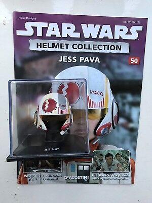 DeAgostini Jess Pava Issue 50 Star Wars Helmet Collection