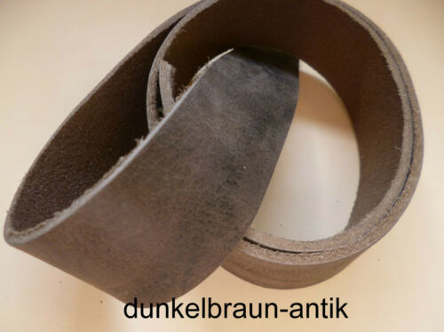 Leather Belt Buffalo Thick 7 various Colours Width 0 13//16-2in x 130