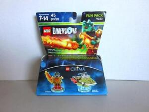LEGO-Dimensions-71223-The-Movie-Fun-Pack-CHIMA-Cragger-Swamp-Skimmer-NIB