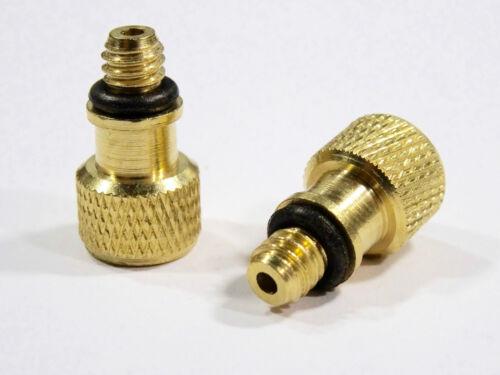 3x Ventil Adapter Auto Schrader DV Fahrrad Pumpe auf Dunlop Blitzventil AV