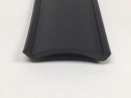 "24 Ft BLACK RV Motorhome Vinyl 7//8/"" Flat Insert Trim Mold Flexible Screw Cover"