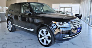 2015 Land Rover Range Rover Supercharged Fully Loaded  No Acc