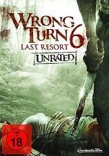 WRONG TURN 6 : LAST RESORT  -  DVD - PAL Region 2 - New sealed