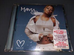 CD-MARY-J-BLIGE-Love-amp-Life-2003-Geffen-Records-50-Cent-Dr-De-Method-Man