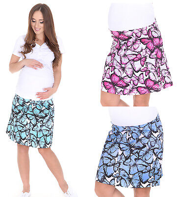 Flight Tracker Mijaculture - Maternity Casual Everyday Elegant Skirt Over Bump 1044