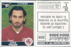 CALCIATORI-PANINI-2004-05-Figurina-sticker-N-259-NEW