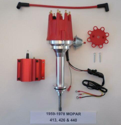 RED 50k Coil small cap 1959-78 BIG BLOCK MOPAR 413 426 440 RED HEI Distributor