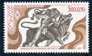 Simple Stamp / Timbre De Monaco N° 1435 ** Les Douze Travaux D'hercule / Le Taureau