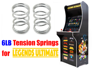 AtGames Legends Ultimate Home Arcade 6lb Tension Springs Replacement Upgrade Mod