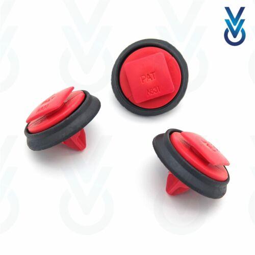 735579326 10x Rueda Trasera Fiat VVO ® bengalas /& Clips de Ajuste de moldeo de arco
