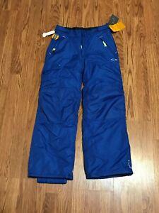 Blue NWT Champion C9 Boys Snow Pants M 8-10