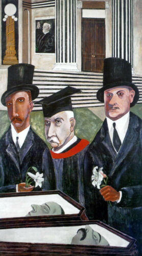 BEN SHAHN THE PASSION OF SACCO AND VANZETTI  GICLEE PRINT FINE CANVAS